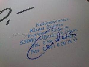 Gutschein atau kupon belanja di Nähmaschinen Klaus Enders