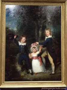 1790 -  Bildnis der Kinder des Lord George Cavendish (Portrait of the Children of Lord George Cavendisch)