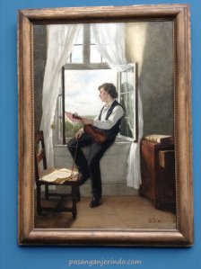 1864 - Der Geiger am Fenster (The Violinist at the Window)