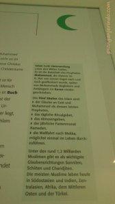 dari pameran agama2 dunia di VHS HLL Dreieich